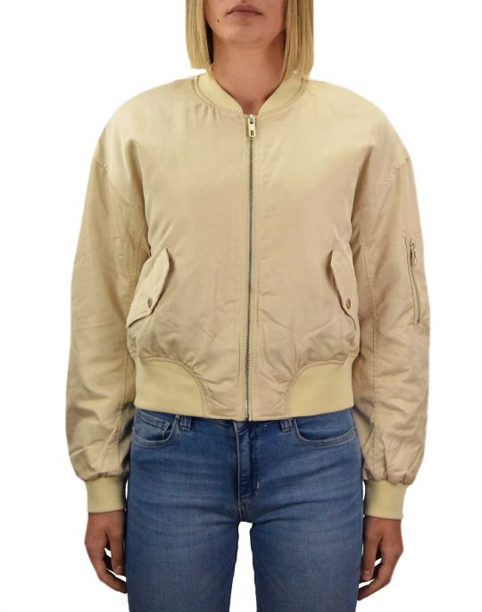 Only Patty Spring Bomber Jacket (15219756) Almond