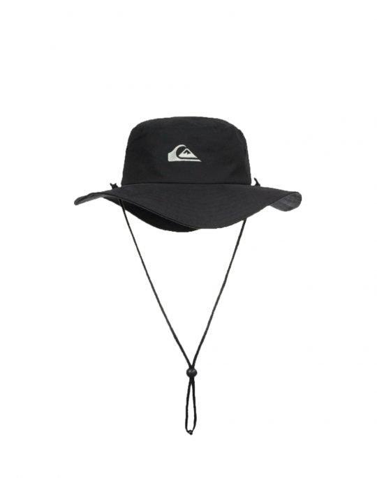 Quiksilver Bushmaster UPF 50+ Hat (AQYHA03314-KVJ0) Black