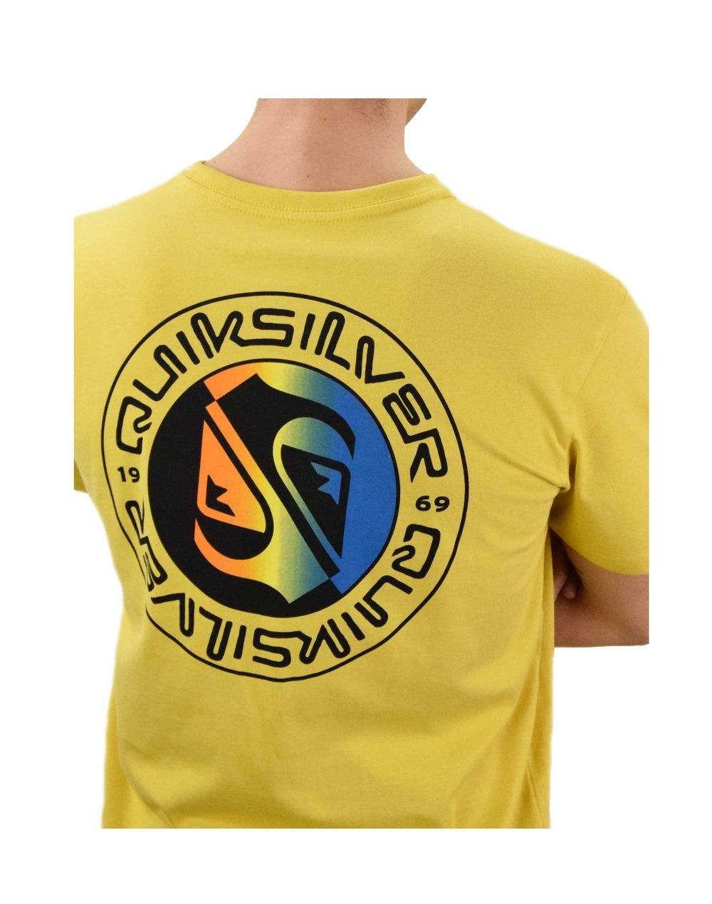 Quiksilver Mellow Phonic Tee (EQYZT06319-YHP0) Yellow