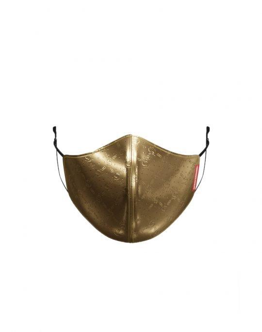 Sprayground Spucci Face Mask (Z346) Gold