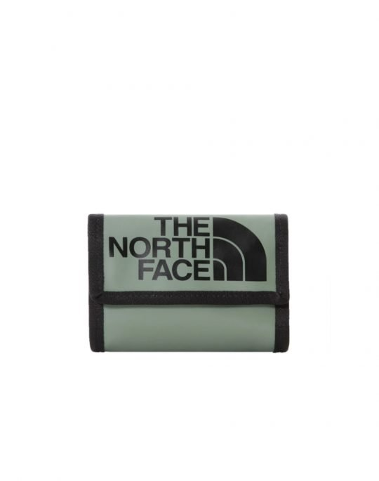 The North Face Base Camp Wallet (NF00CE69YXN1) Agave Green/Black