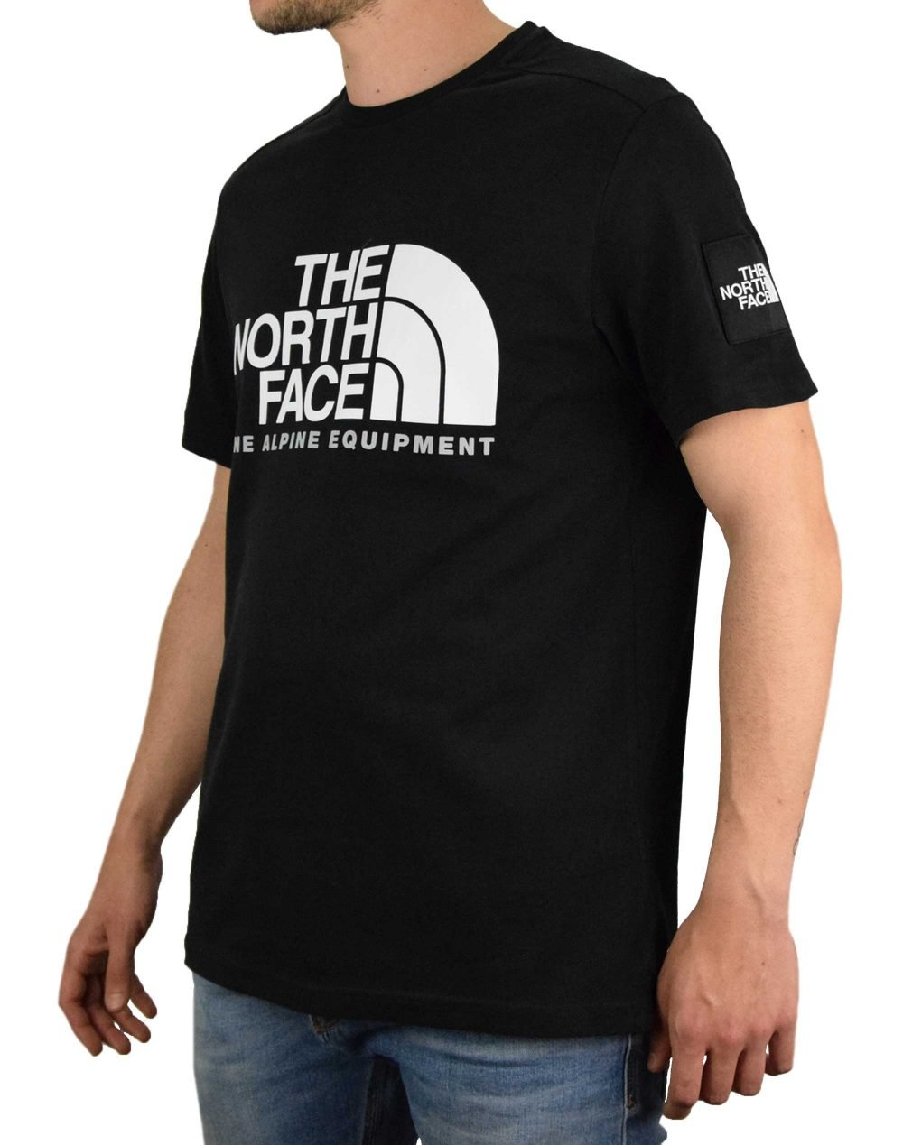 The North Face Fine Alpine 2 Tee (NF0A4M6NJK31) Black
