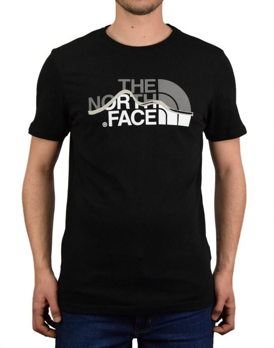 The North Face Mountain Line Tee (NF00A3G2JK31) Black
