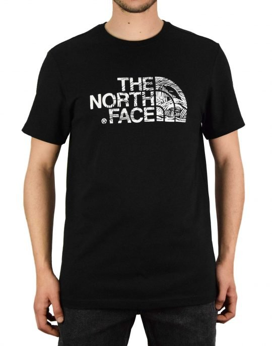 The North Face Woodcut Dome Tee (NF00A3G1JK31) Black
