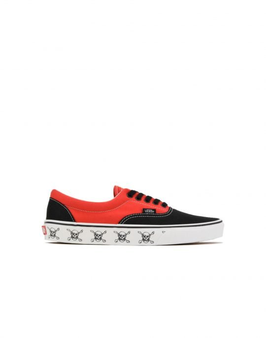 Vans Era New Varsity (VN0A54F14G01) Black/High Risk Red