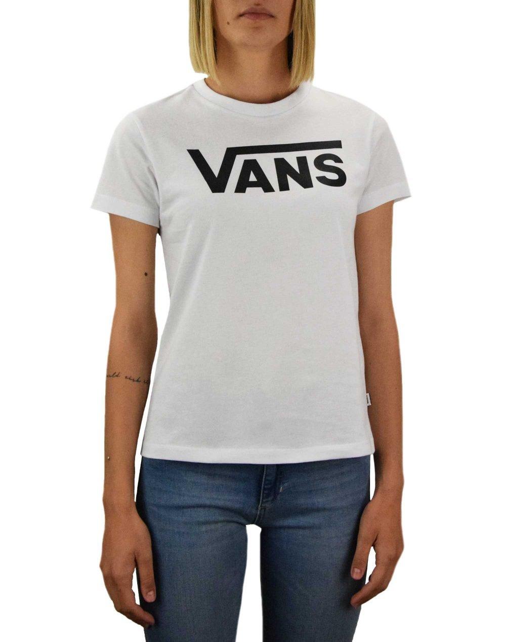 Vans Flying V Crew Tee (VN0A3UP4WHT1) White