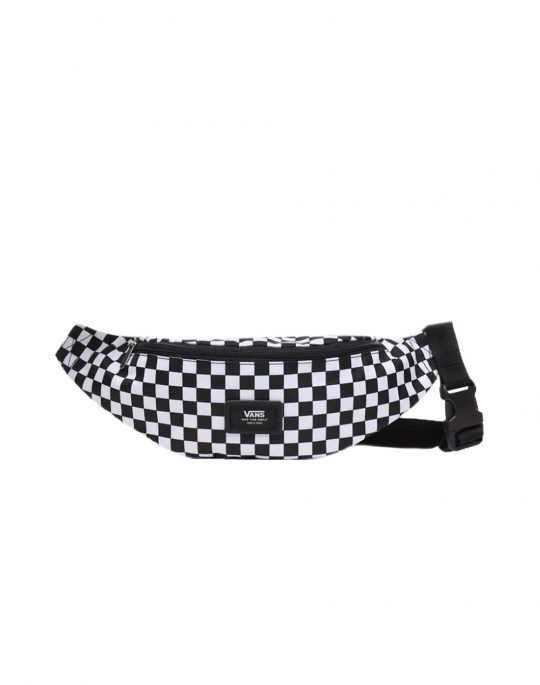 Vans Mini Ward Cross Body Pack (VN0A45GXHU01) Black/White Checker
