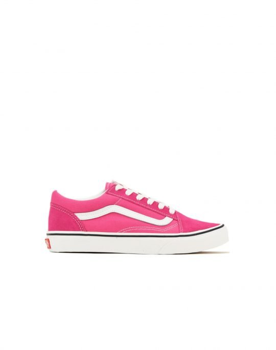Vans Old Skool J (VN0A4UHZ32C1) Fuchsia Purple/True White