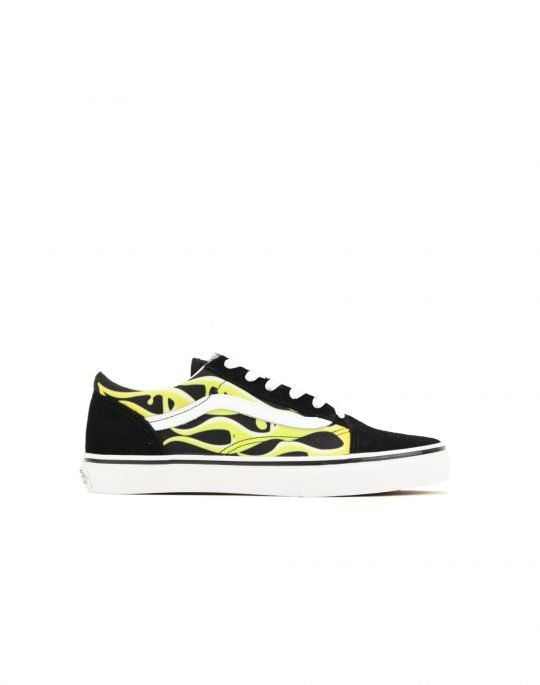 Vans Old Skool Slime Flame J (VN0A4UHZ31M1) Black/True White