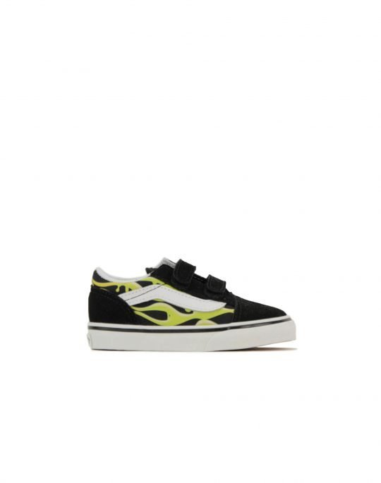 Vans Old Skool V Slime Flame (VN0A38JN31M1) Black/True White