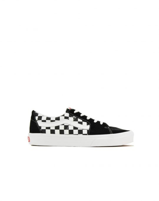 Vans Sk8-Low Canvas Suede (VN0A4UUK4W71) Black/ Checkerboard