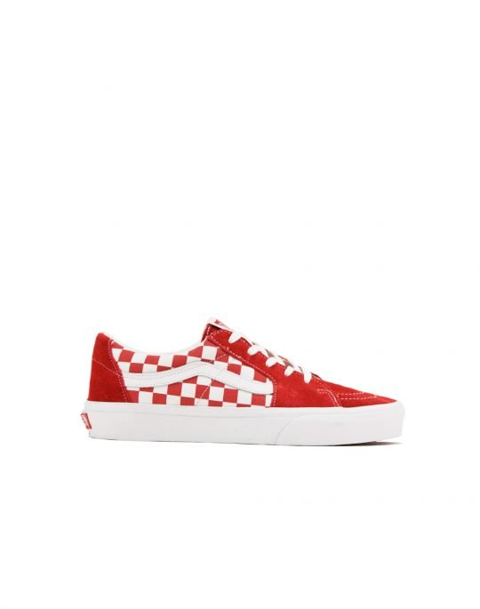 Vans Sk8-Low Canvas Suede (VN0A4UUK4W91) Racing Red/Checkerboard
