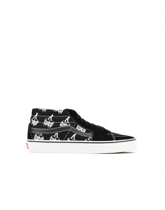 Vans Sk8-Mid New Varsity (VN0A3WM34WW1) Black/True White