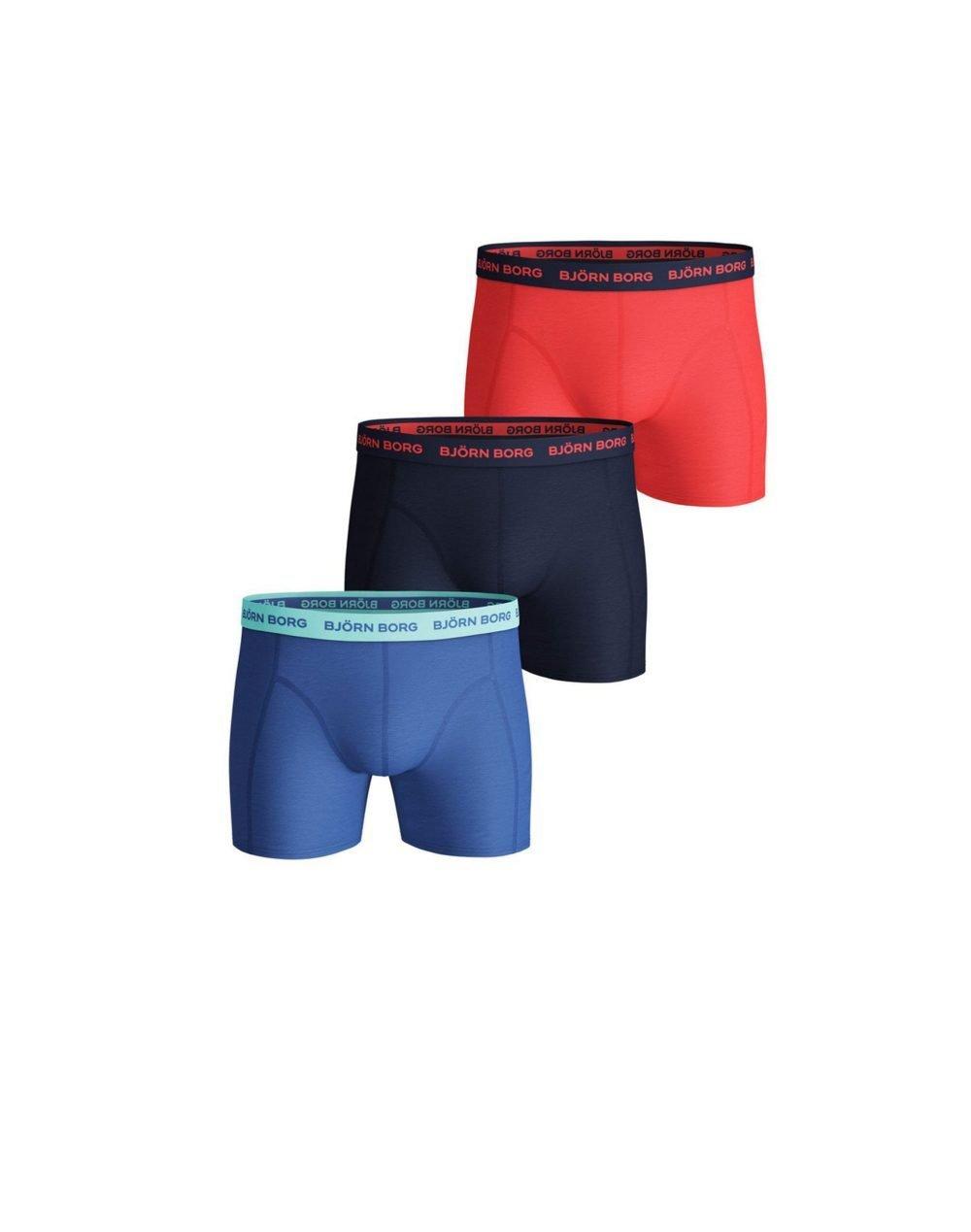 Bjorn Borg Essential Sammy Seasonal 3-Pack Boxer (2111-1160-72841) Ultramarine