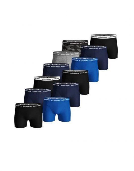 Bjorn Borg Essential Solid 12-Pack Boxer (9999-1398-90011) Multi