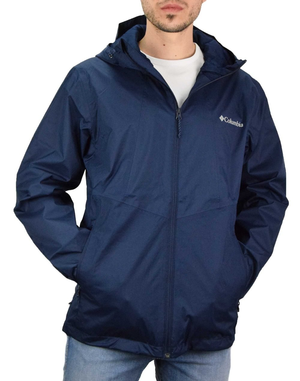 Columbia Inner Limits™ II Jacket (EO0O88-465) Collegiate Navy