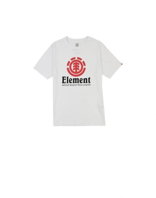 Element Vertical Boy Tee (N2SSC8ELP9 3904) Optical White