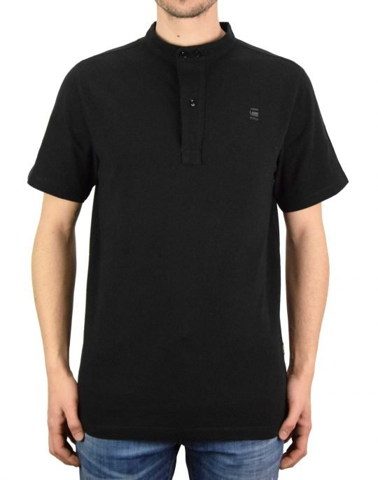 G-Star Raw Scan Colar Dry Jersey Tee (D19379-C336-6484) Black