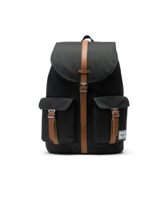 Herschel Supply Co Dawson 20.5L (10233-00001) Black/Tan Synthetic Leather