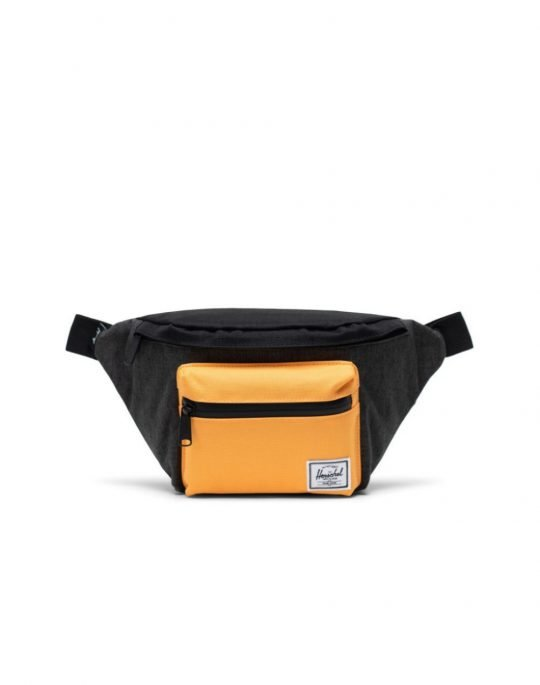 Herschel Supply Co Seventeen 3.5L (10017-04449) Black Crosshatch/Black/Blazing Orange