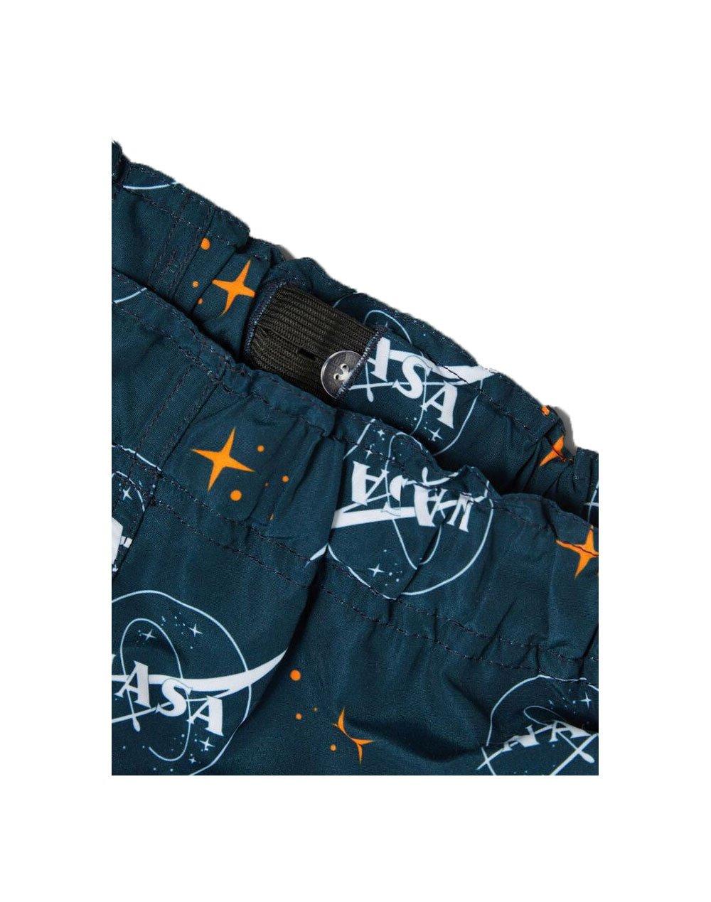 Name It Nasa Art Swim Shorts (13187616) Dark Sapphire