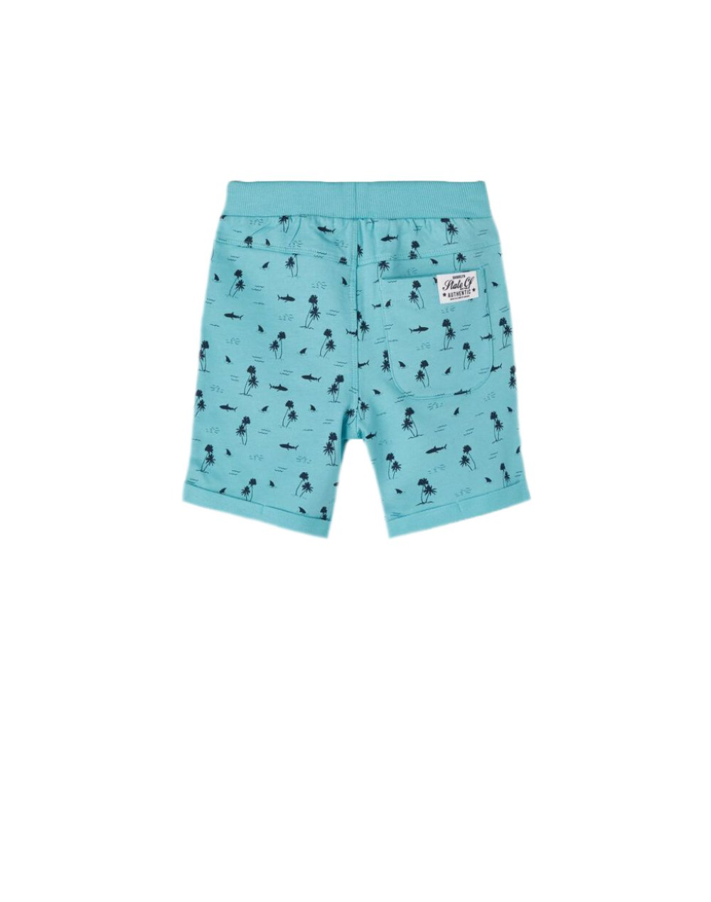 Name It Vermo Aop Long Shorts (13189759) Aqua