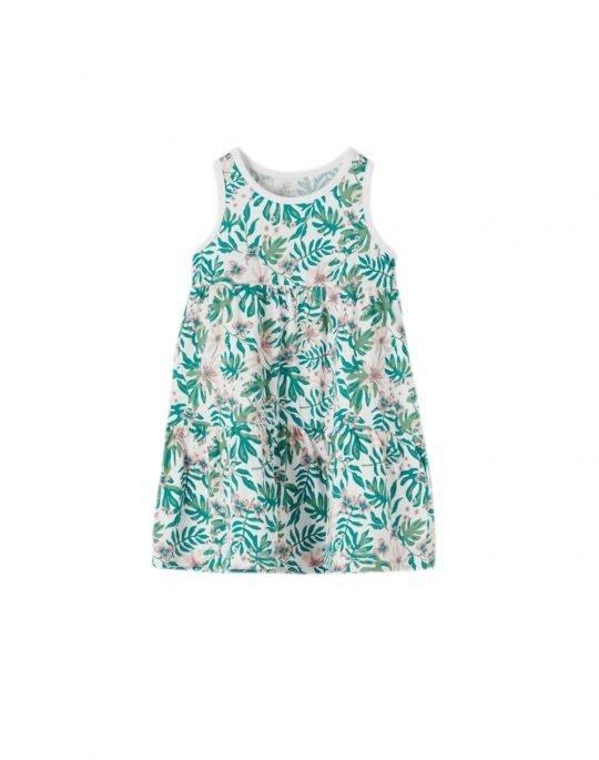 Name It Vigga Spencer Dress (13189315) Bright White/Mini Tropical