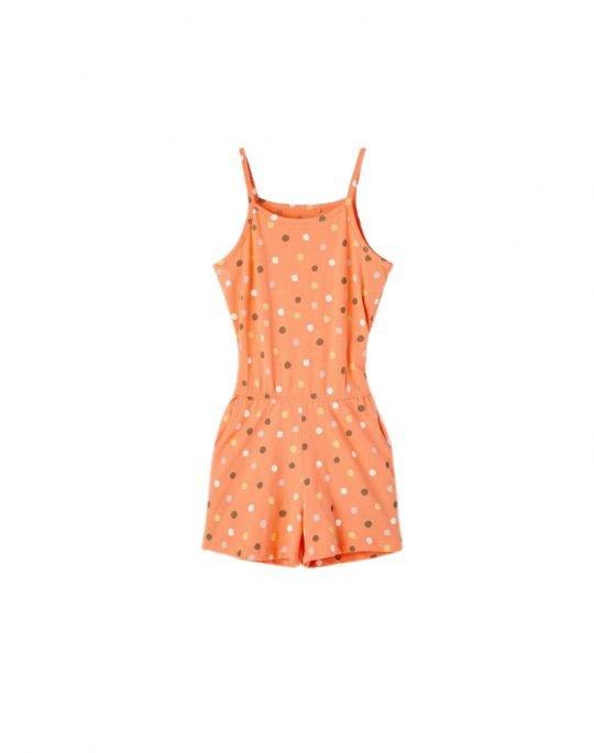Name It Vigga Strap Suit (13189316) Cantaloupe/Dots