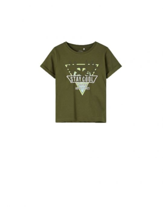 Name It Vux SS Top Tee (13189430) Ivy Green