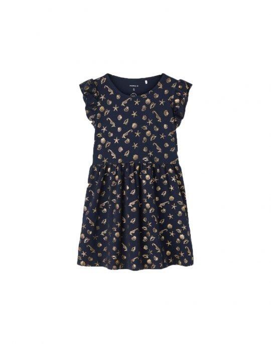 Name It Zizel Dress (13188240) Dark Sapphire