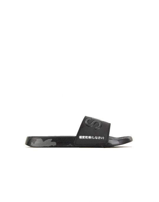 Superdry Aop Beack Slide (MF3105ST X2L) Black/Mono Camo Dot