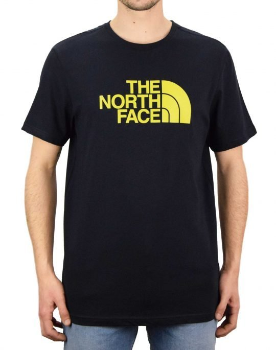 The North Face Easy Tee (NF0A2TX3XE31) Aviator Navy/Citronelle Green
