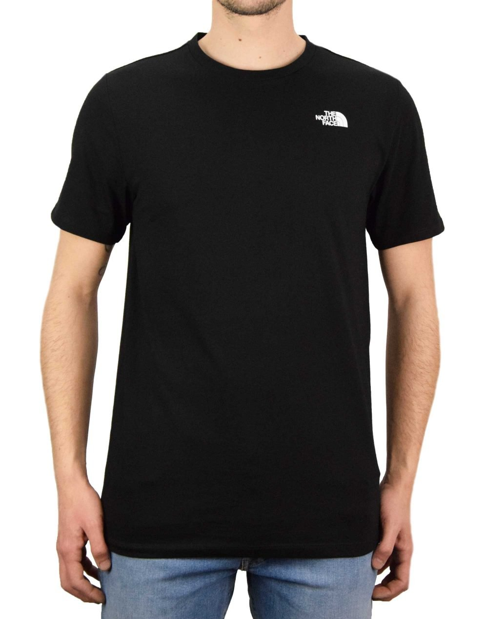 The North Face Foundation Left Chest Logo Tee (NF0A55AXJK31) Black