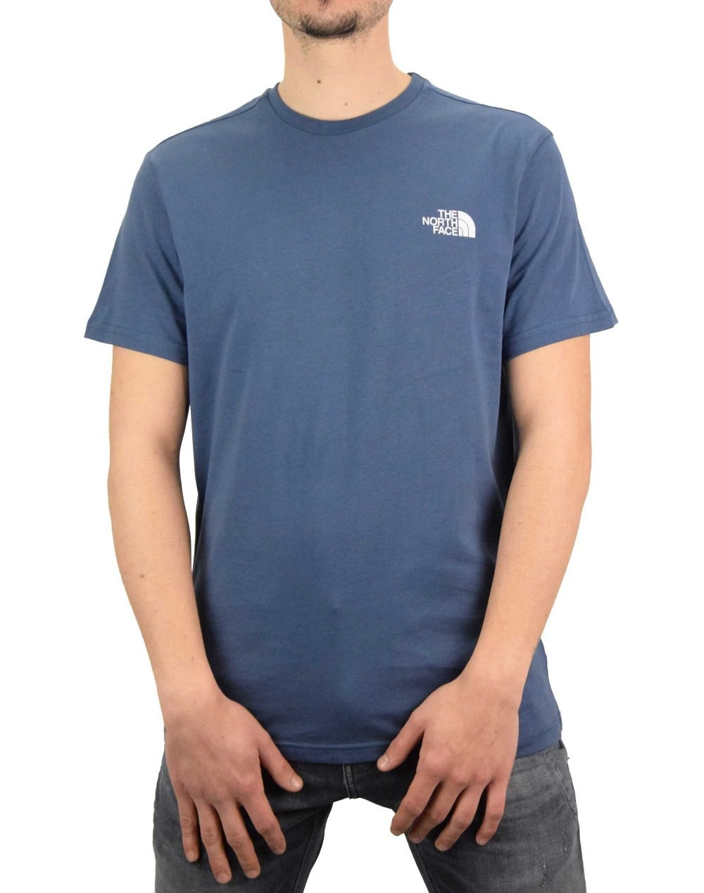 The North Face Simple Dome Tee (NF0A2TX5WC41) Vintage Indigo