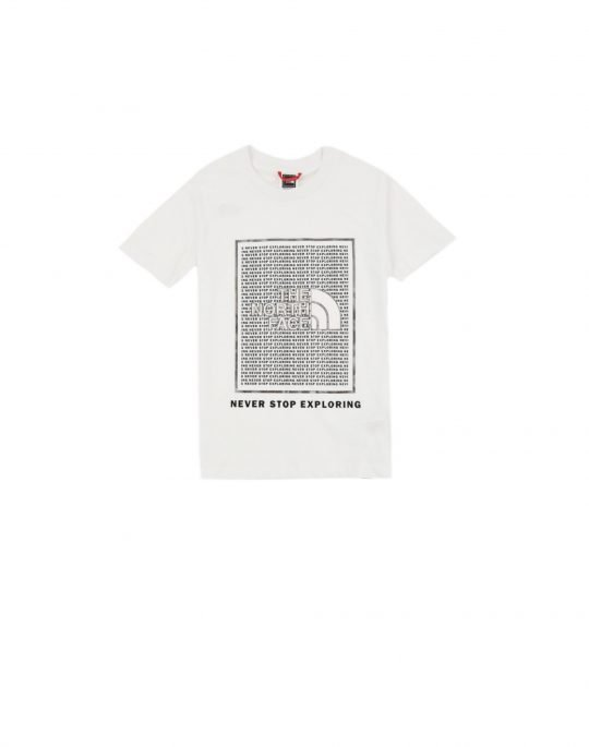 The North Face Youth Graphic Tee (NF0A5591FN41) White