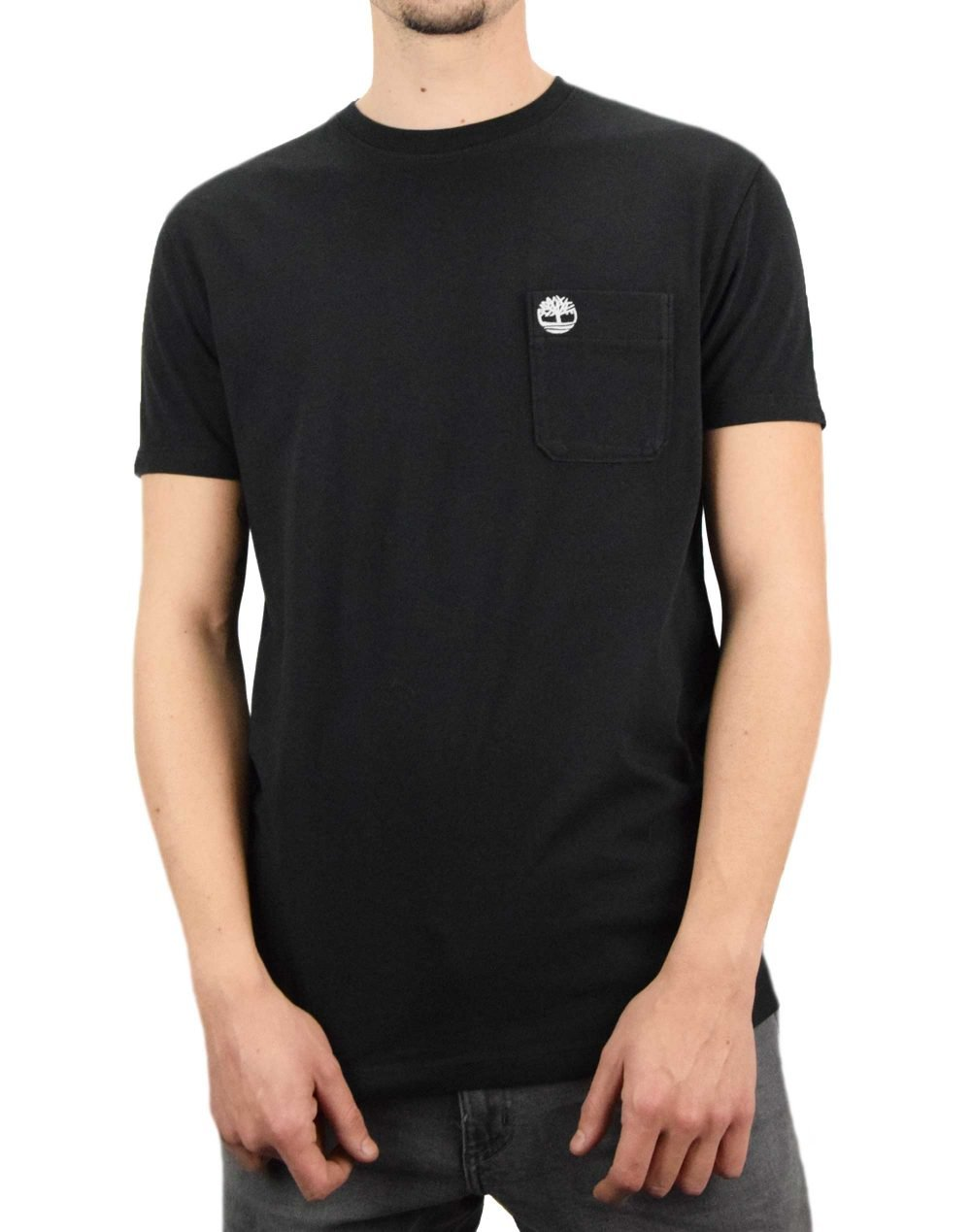 Timberland Dun-River Pocket Tee (TB0A2CQY 001) Black