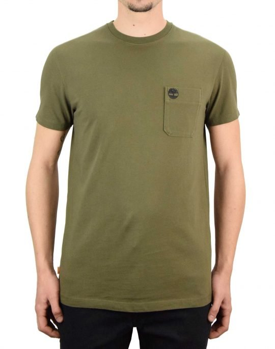 Timberland Dun-River Pocket Tee (TB0A2CQY A58) Grape Leaf