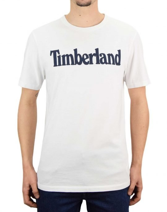 Timberland K-R Brand Linear Tee (TB0A2C31 100) White