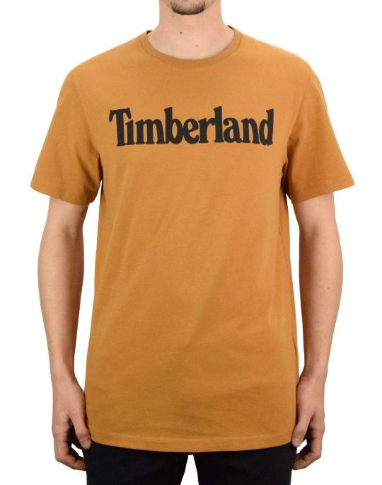 Timberland K-R Brand Linear Tee (TB0A2C31 P47) Wheat Boot