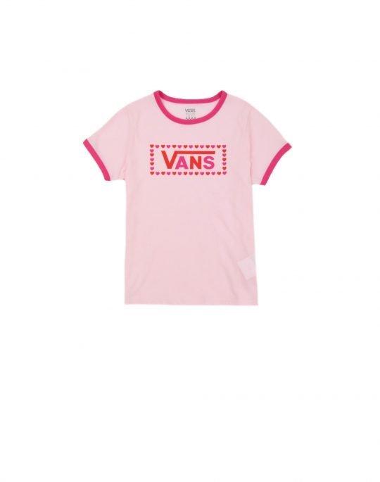 Vans Lola Tee (VN0A53QRZFH1) Cool Pink/Fuchsia