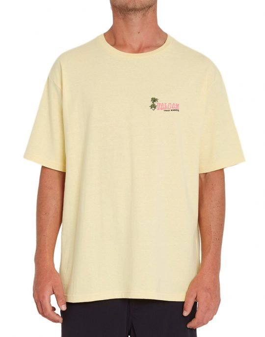 Volcom Believe In Paradise LSE Tee (A4312109 DNY) Down Yellow
