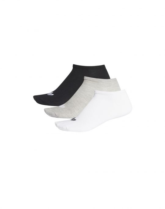 Adidas Trefoil Liner Sock (FT8524) White/Grey/Black