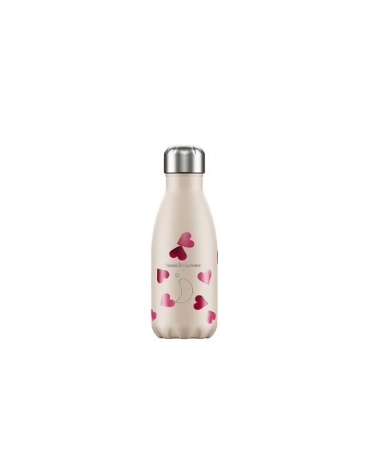 Chilly's Emma Bridgewater Reusable Bottle 260ml (200119) Pink Hearts
