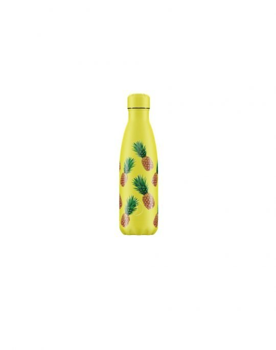 Chilly's Icon Edition Reusable Bottle 500ml (200355) Pineapple