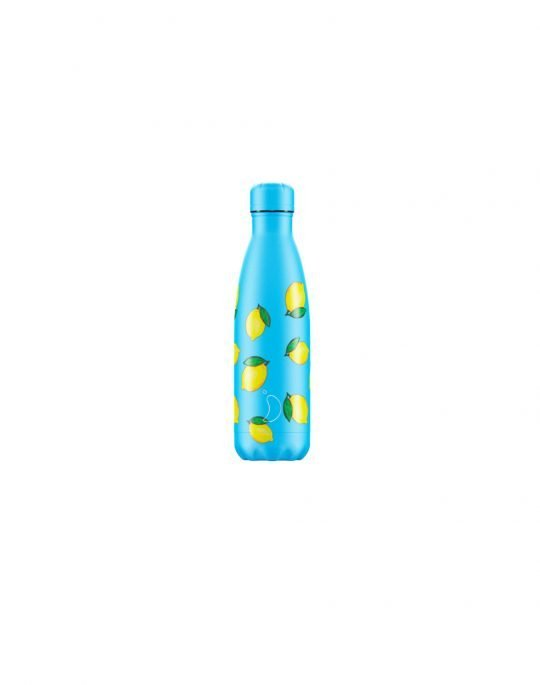 Chilly's Icon Edition Reusable Bottle 500ml (200358) Lemon