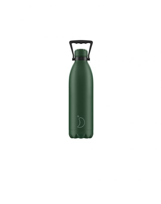 Chilly's Matte Edition Reusable Bottle 1.8L (200504) Green