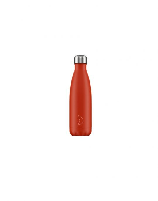 Chilly's Neon Edition Reusable Bottle 500ml (200223) Red