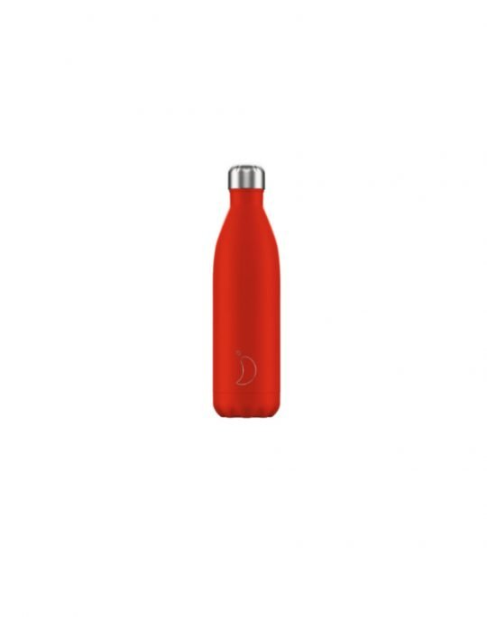 Chilly's Neon Edition Reusable Bottle 750ml (200417) Red