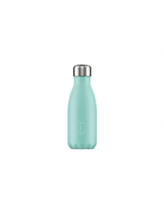 Chilly's Pastel Edition Reusable Bottle 260ml (200108) Green