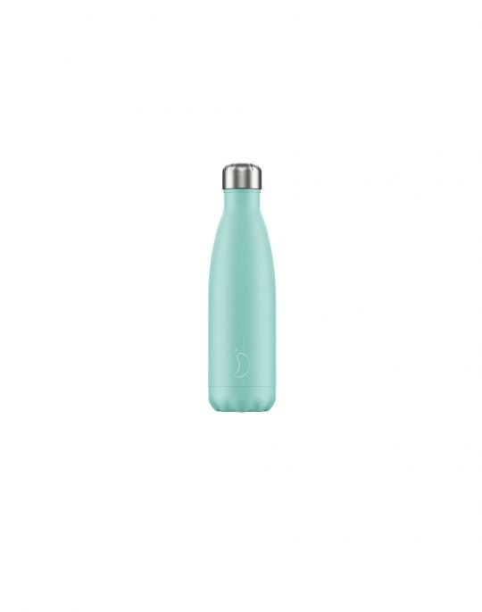 Chilly's Pastel Edition Reusable Bottle 500ml (200217) Green